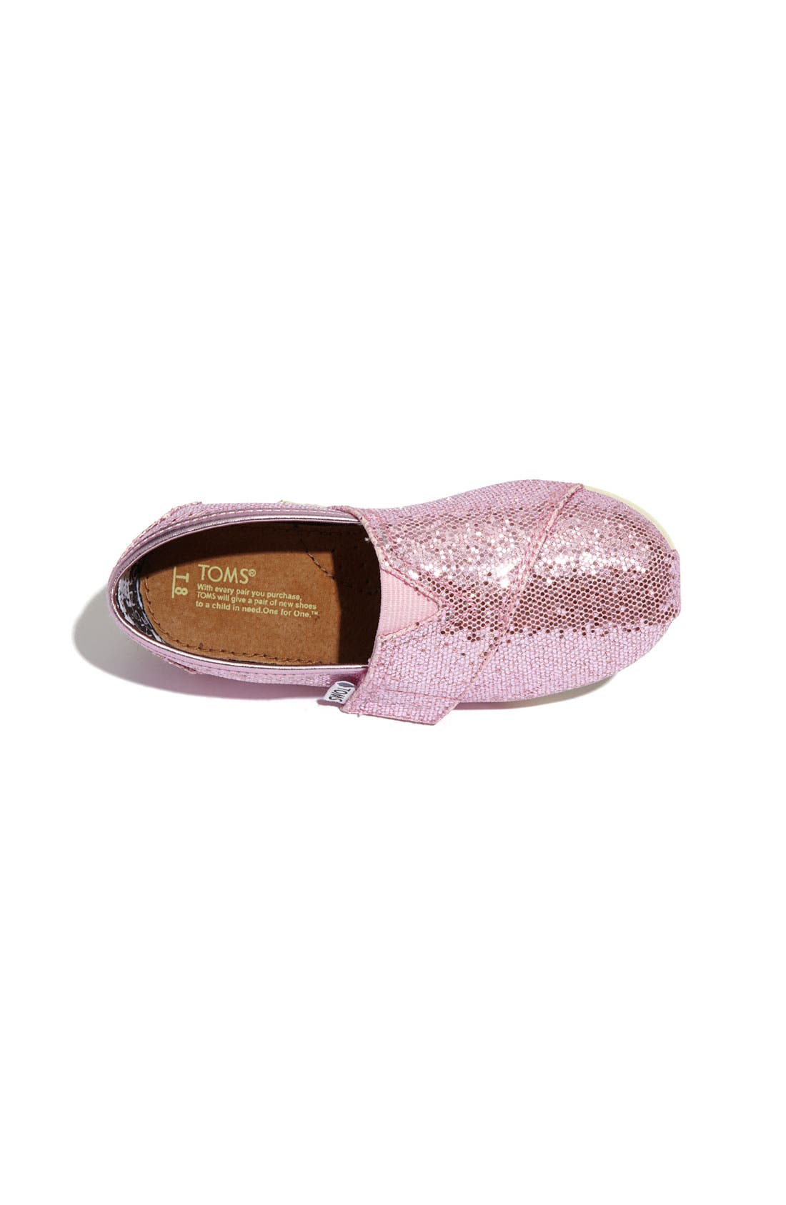 ,                             'Classic Tiny - Glitter' Slip-On,                             Alternate thumbnail 28, color,                             650