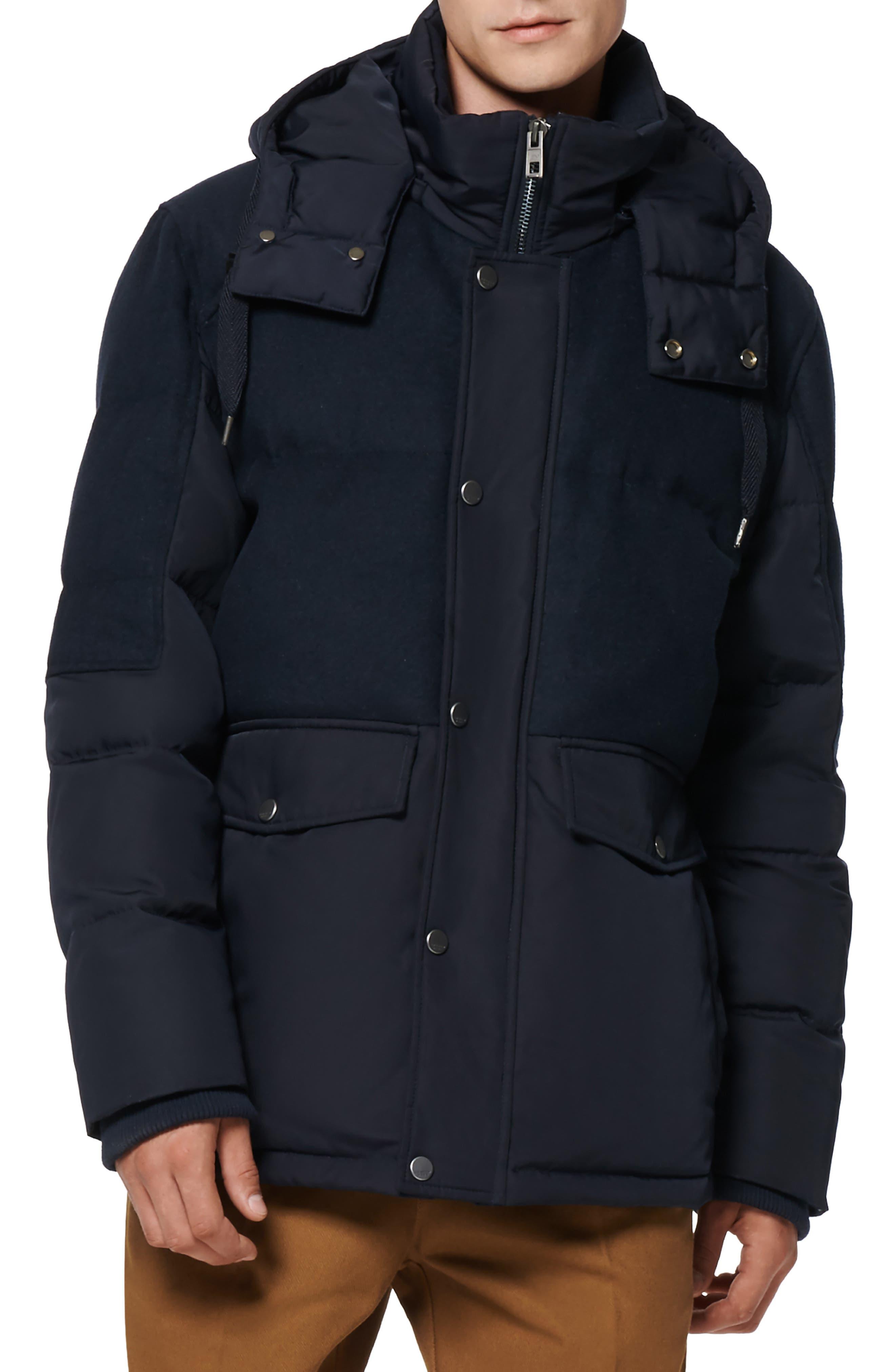 Rhodes Water Resistant Hooded Puffer Jacket