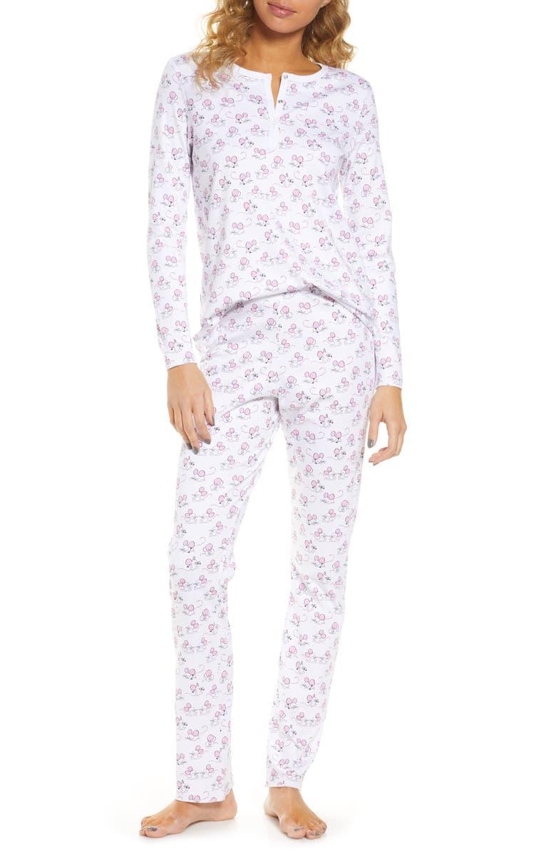 ROLLER RABBIT Gym Rats Pajamas, Main, color, 690