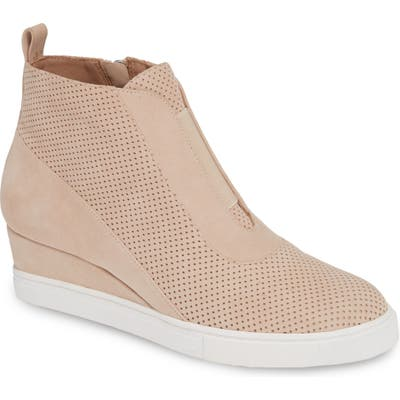 Linea Paolo Anna Wedge Sneaker, Pink