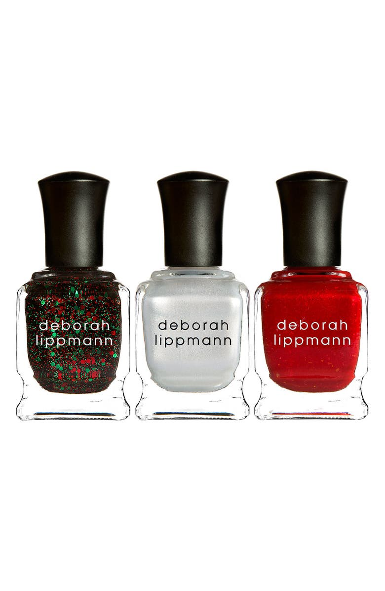 DEBORAH LIPPMANN 'Christmas in the City' Nail Lacquer Trio, Main, color, 000