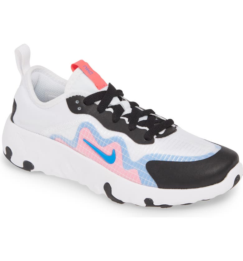 NIKE Renew Lucent Sneaker, Main, color, WHITE/ PHOTO BLUE-HYPER PINK