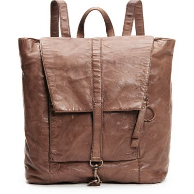 Frye And Co Rubie Leather Backpack - Brown