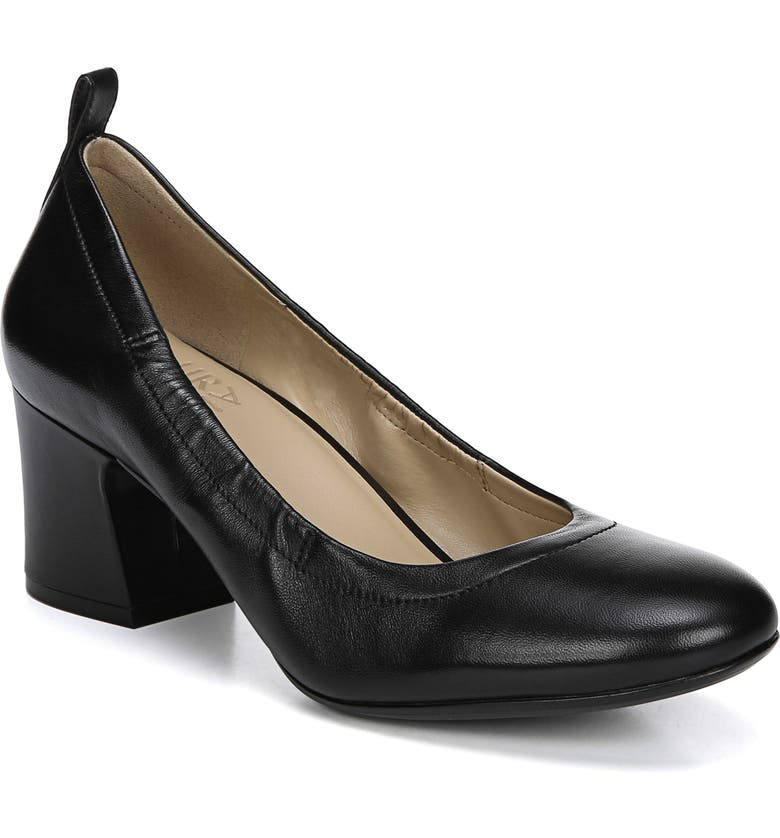 NATURALIZER Dalee Pump, Main, color, BLACK LEATHER