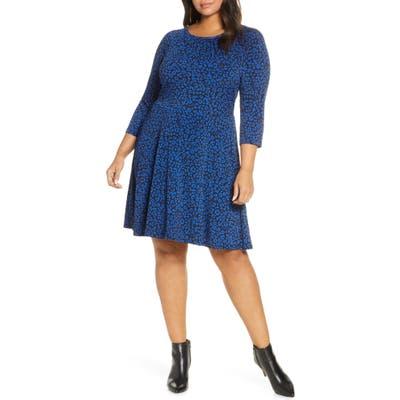 Plus Size Michael Michael Kors Baby Cat Dress, Blue