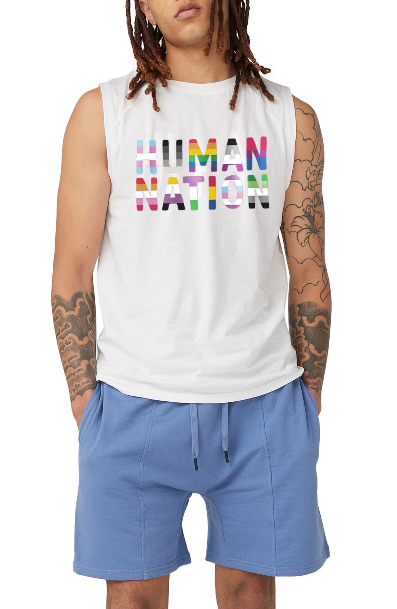 Gender Inclusive Logo Muscle Tank