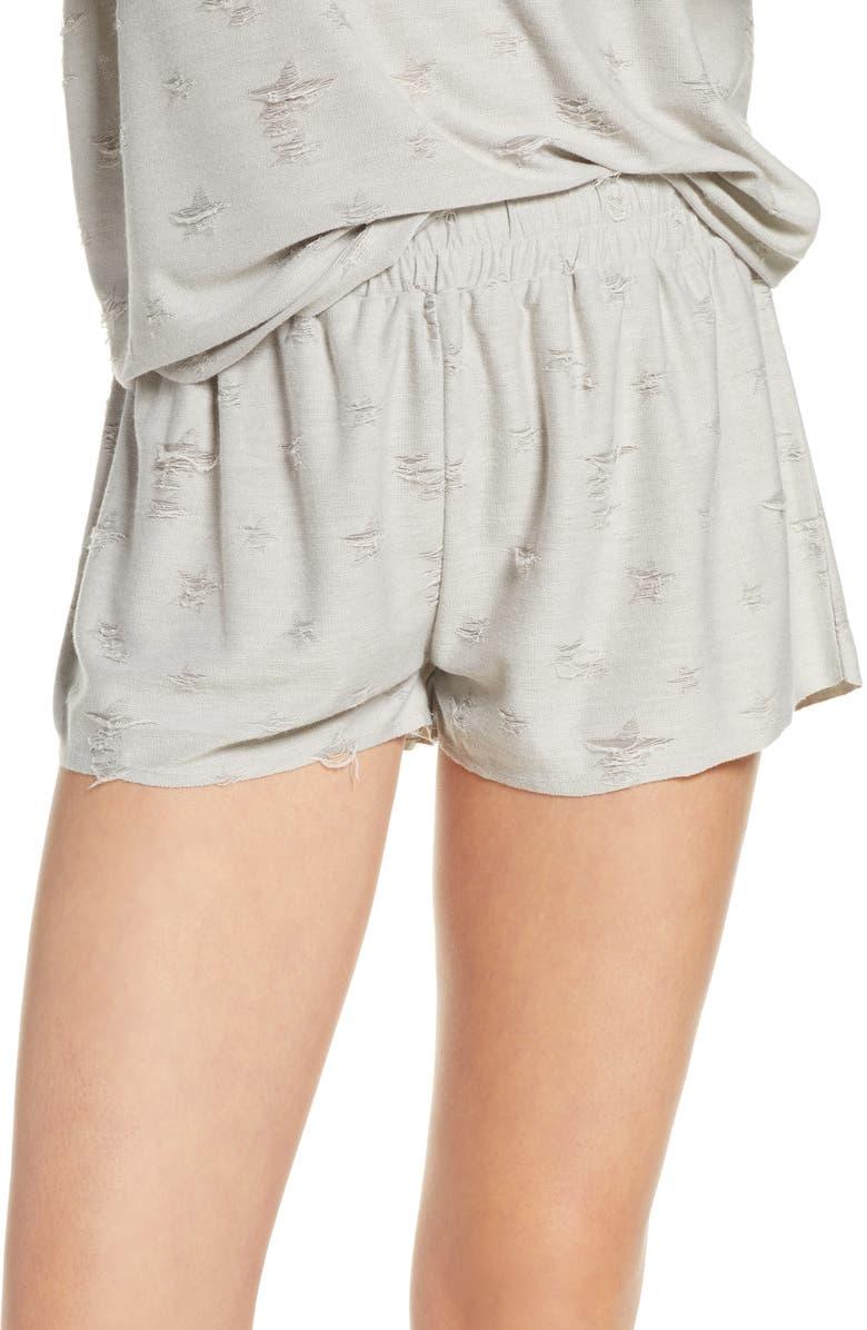 HONEYDEW INTIMATES Starry Eyed Lounge Shorts, Main, color, FLINT