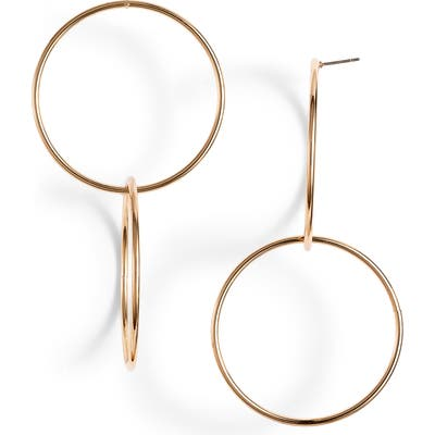 Ettika Power Frontal Hoop Earrings