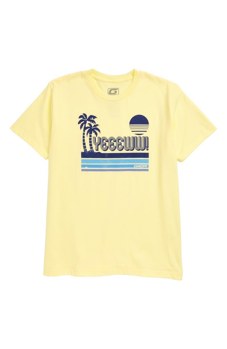 GROM Yeeeww T-Shirt, Main, color, 740
