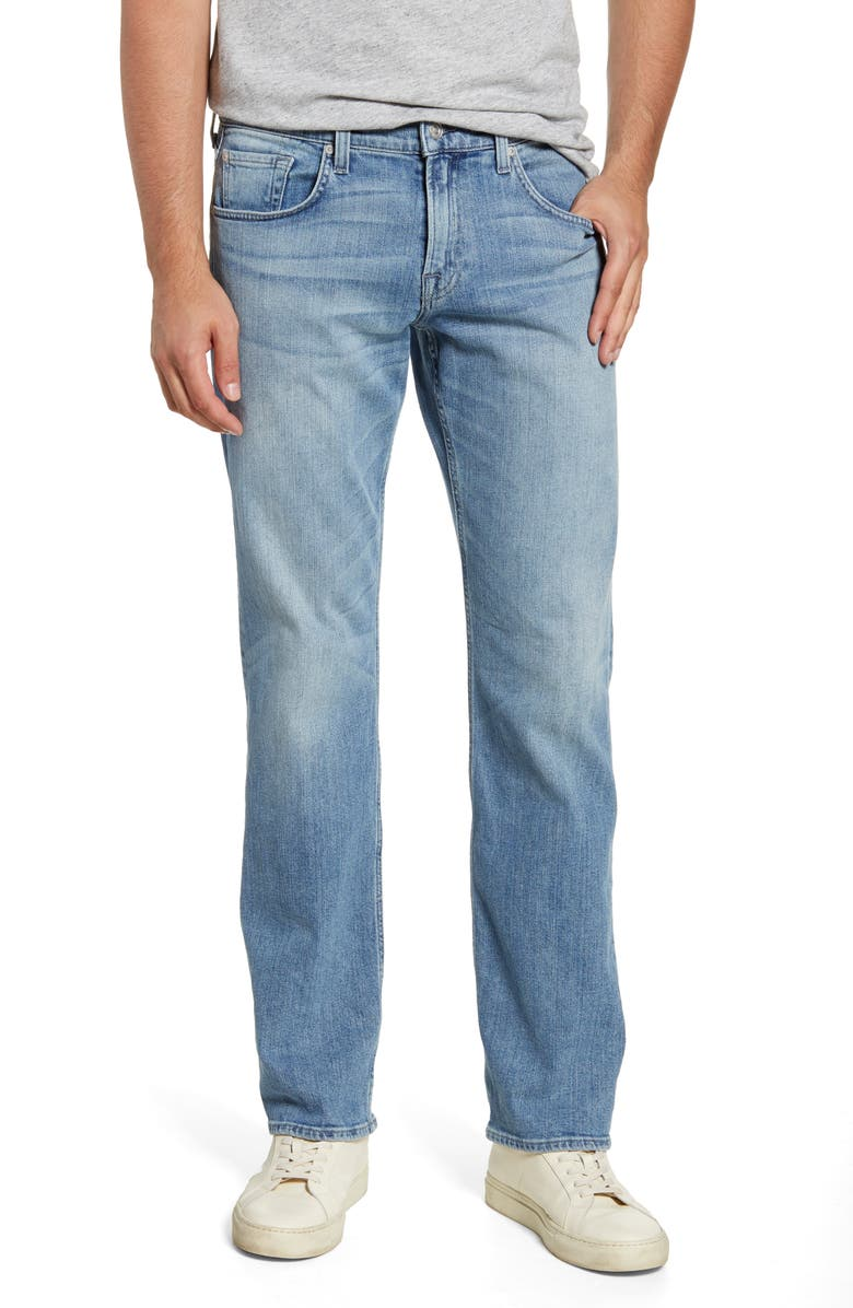 7 FOR ALL MANKIND<SUP>®</SUP> Austyn Relaxed Fit Jeans, Main, color, WASHED OUT