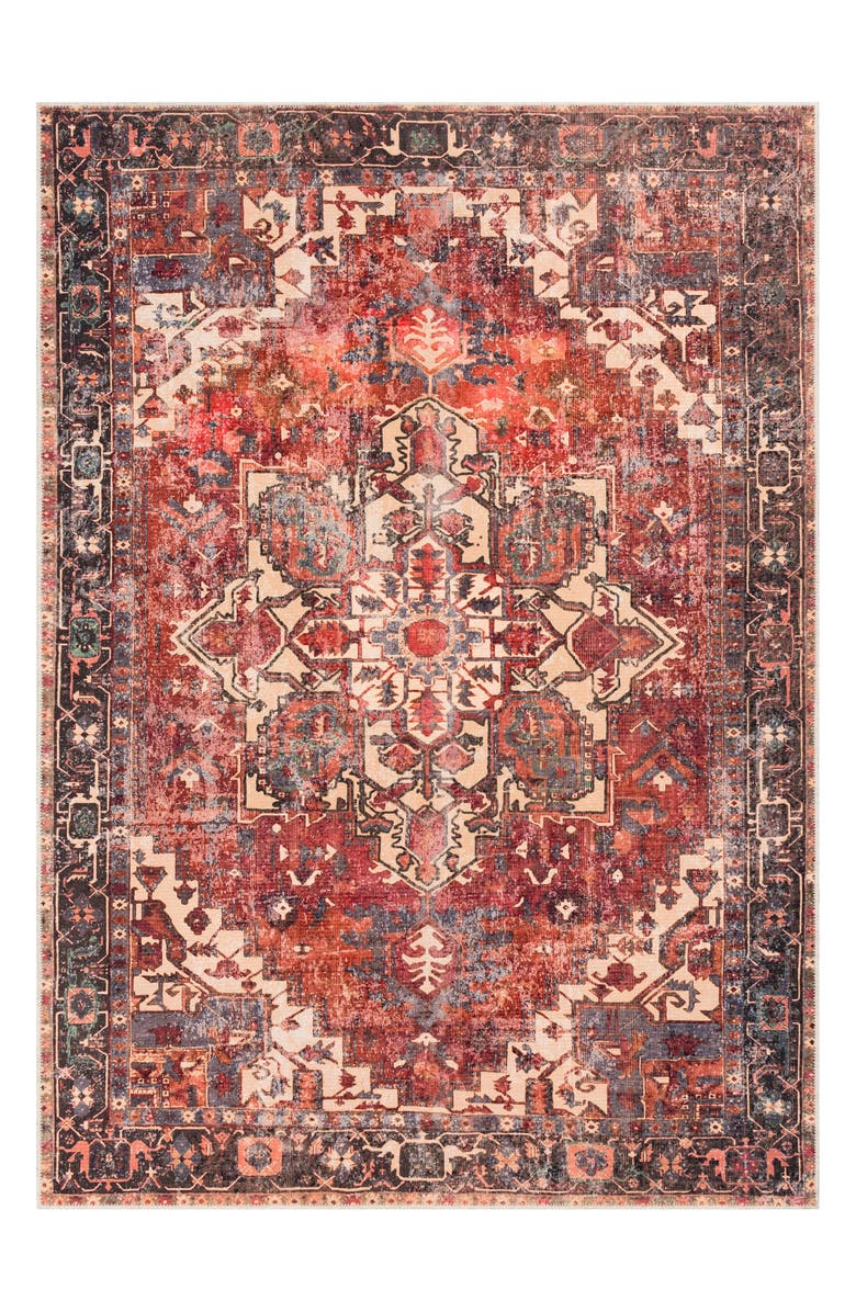 SURYA HOME Amelie Area Rug, Main, color, RUST