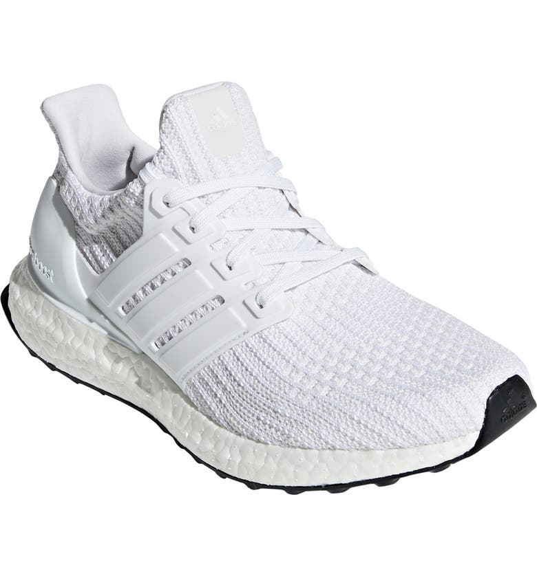 ADIDAS UltraBoost Running Shoe, Main, color, WHITE/ WHITE