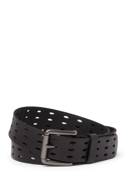 Image of ALLSAINTS 38mm Flat Strap w/ Perforated Detailing
