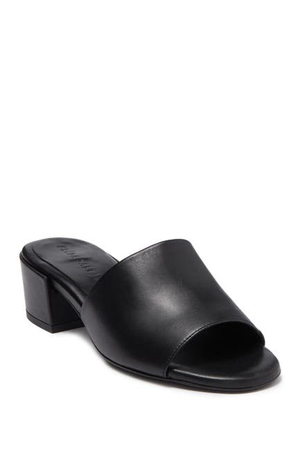 Image of FREDA SALVADOR Sonia Open Toe Leather Mule