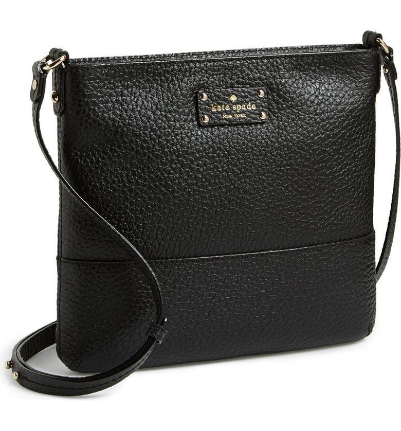 KATE SPADE NEW YORK 'grove court - cora' crossbody bag, Main, color, 001