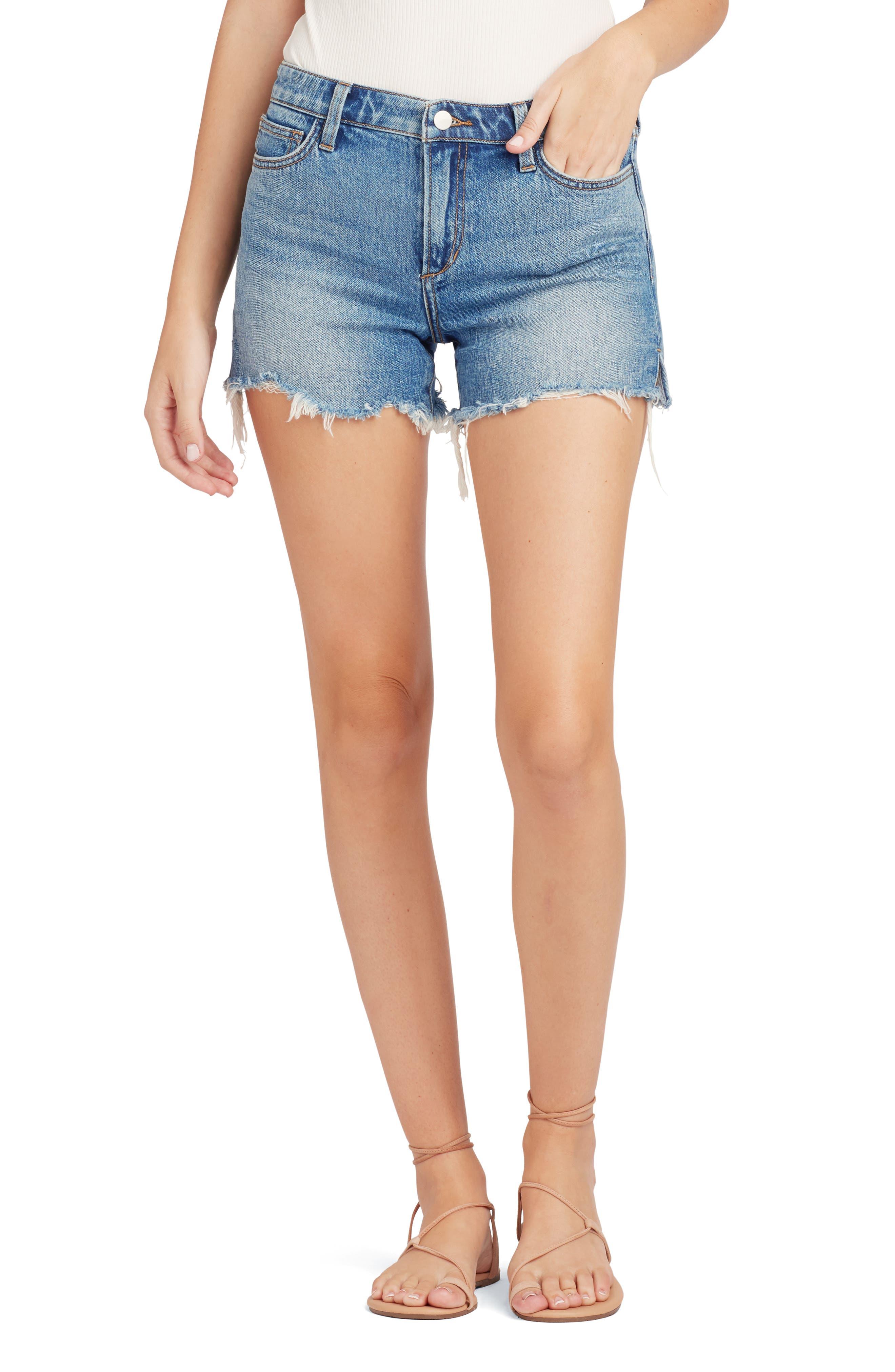 The Ozzie Distressed Cutoff Denim Shorts