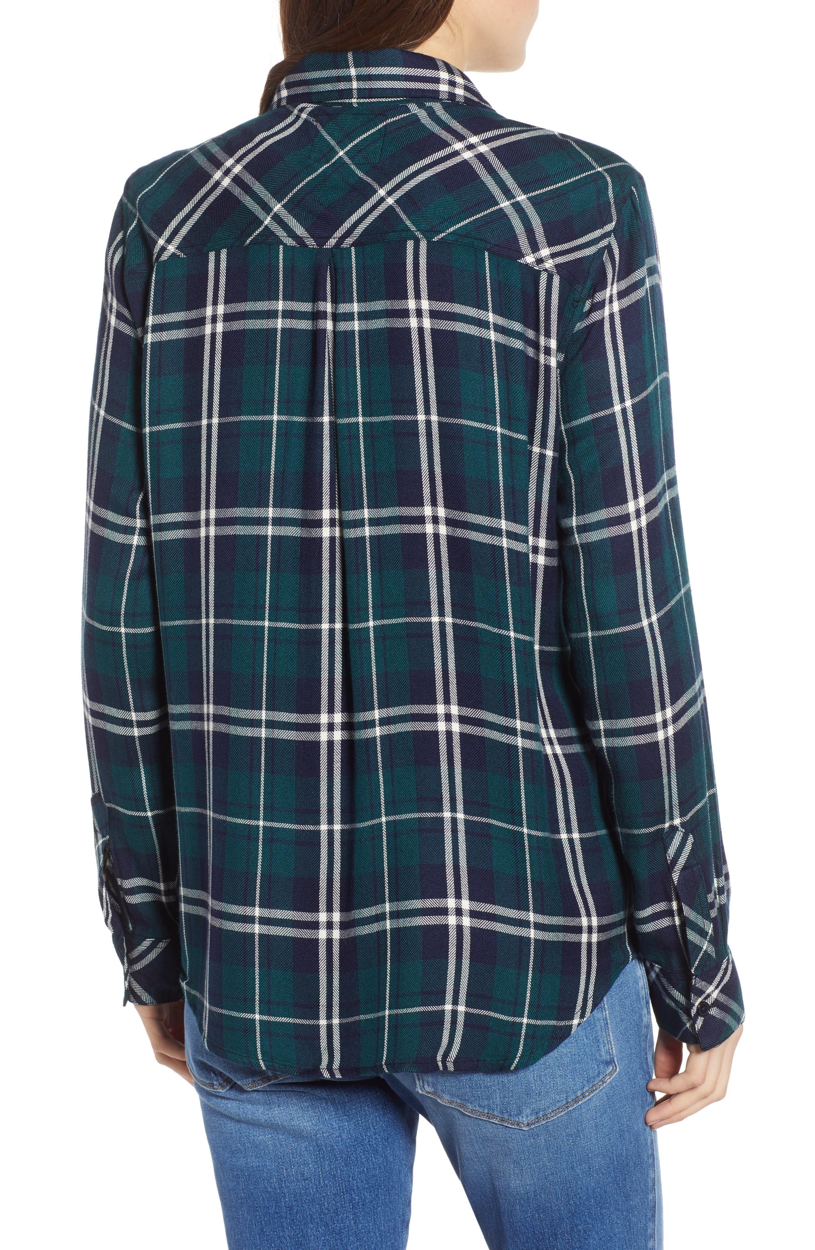 ,                             Hunter Plaid Shirt,                             Alternate thumbnail 362, color,                             419
