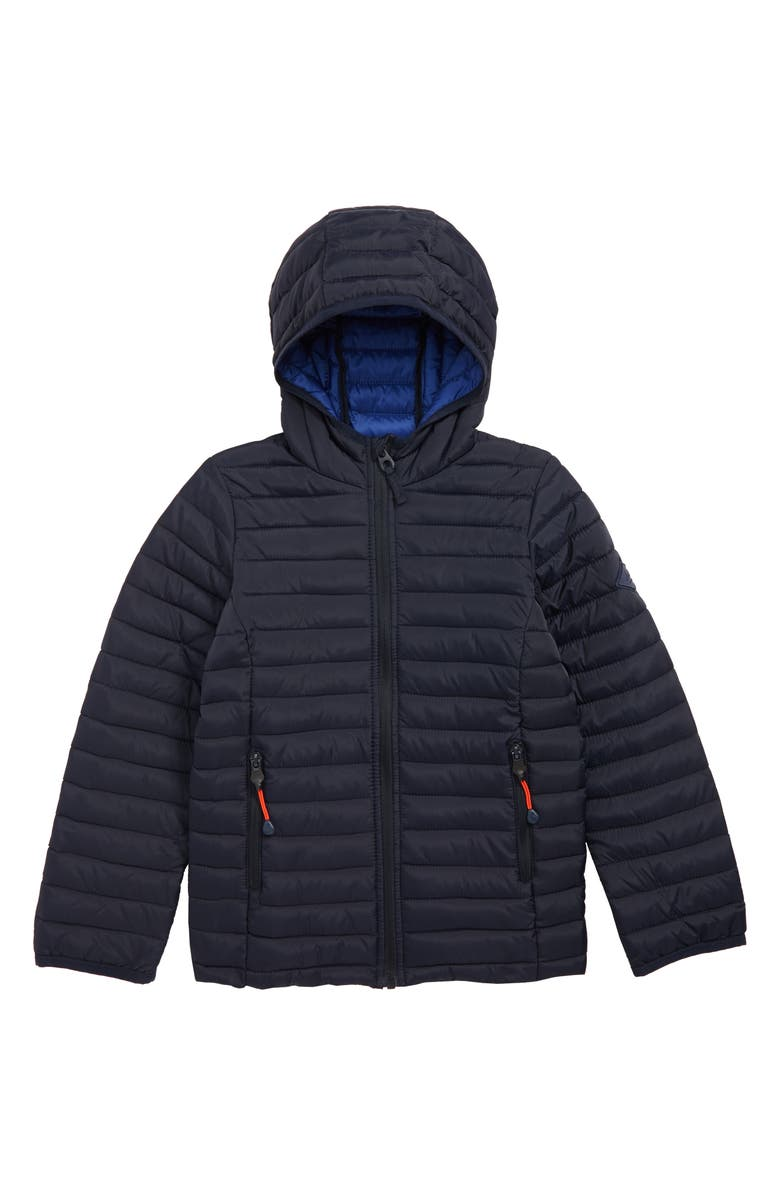 JOULES Cairn Packable Puffer Coat, Main, color, 410