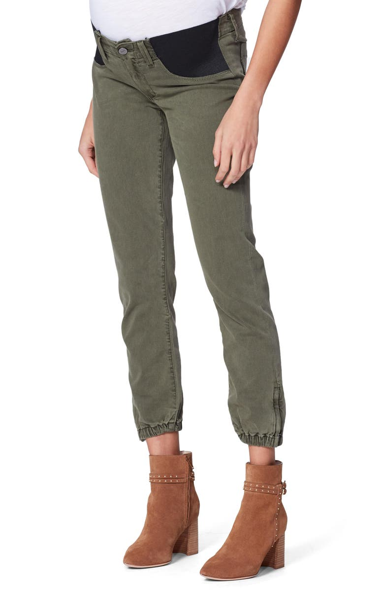 PAIGE Mayslie Maternity Joggers, Main, color, 300