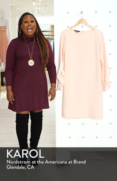 Emory Finesse Crepe Dress, sales video thumbnail