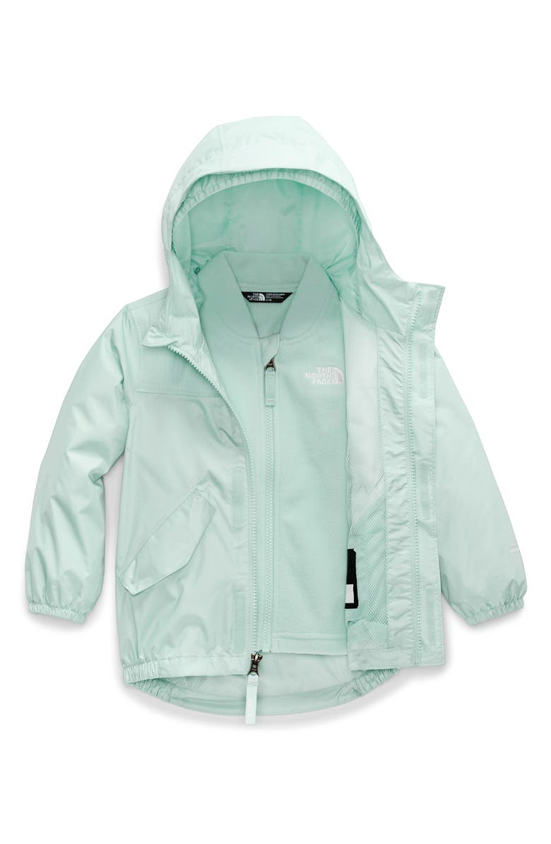 THE NORTH FACE Stormy Rain TriClimate<sup>®</sup> 3-in-1 Jacket, Main, color, COASTAL GREEN