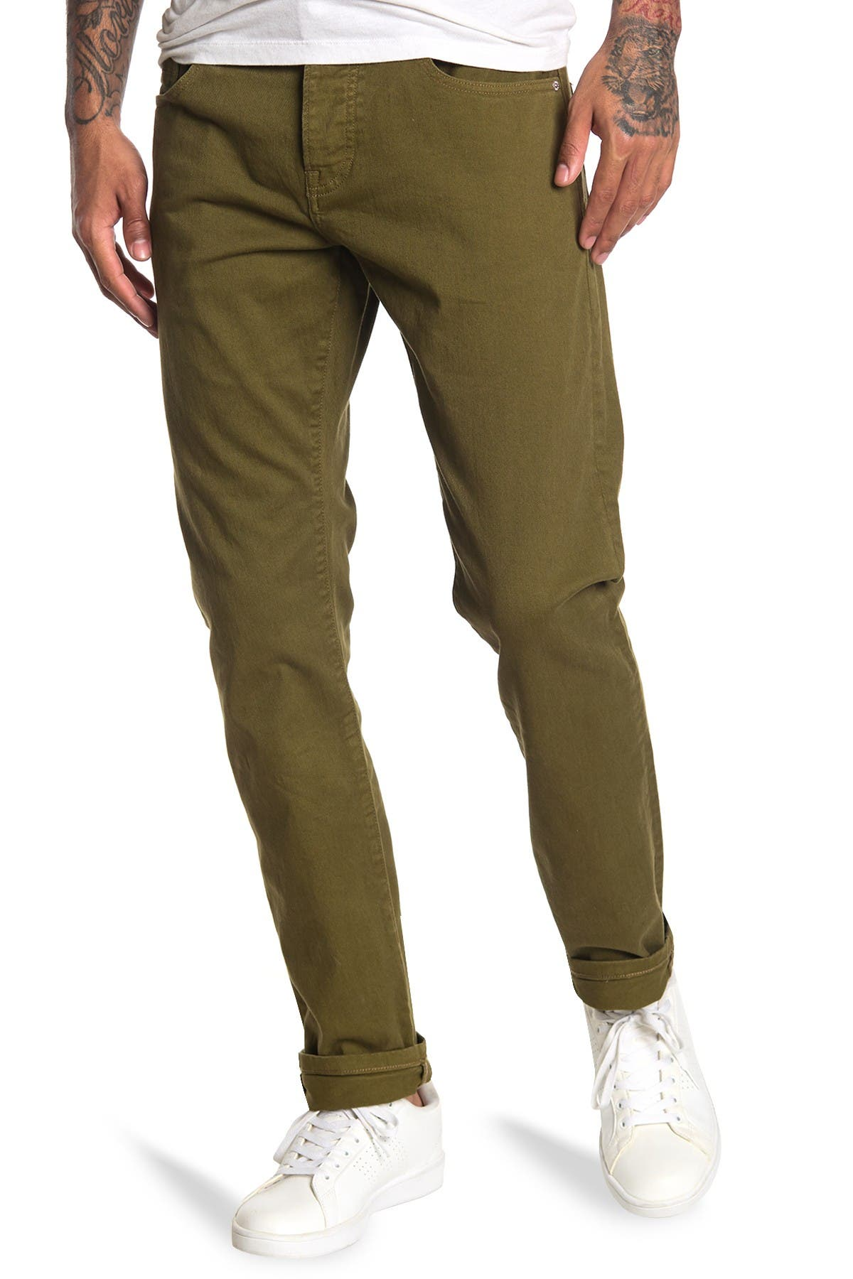 Image of Scotch & Soda Ralston Dyed Denim Jeans