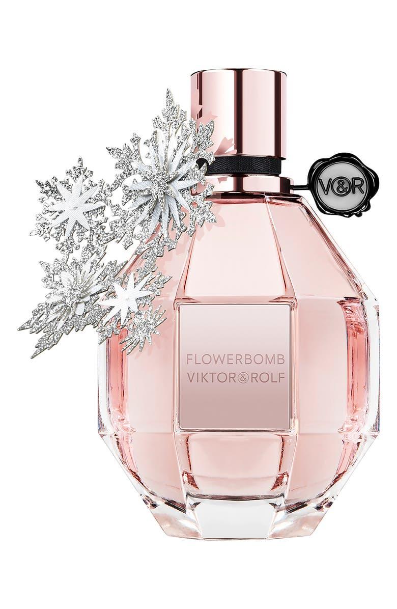 VIKTOR&ROLF Full Size Flowerbomb Holiday Edition Eau de Parfum, Main, color, 000