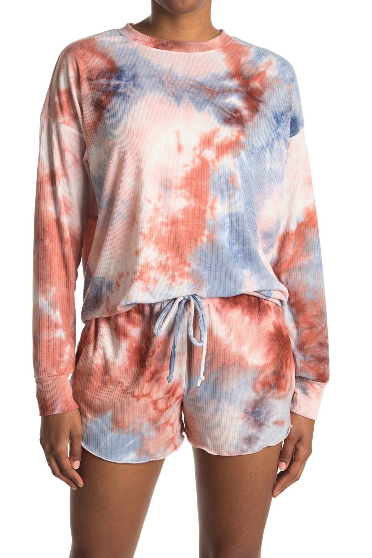 Image of Socialite Tie Dye Oversized Pullover
