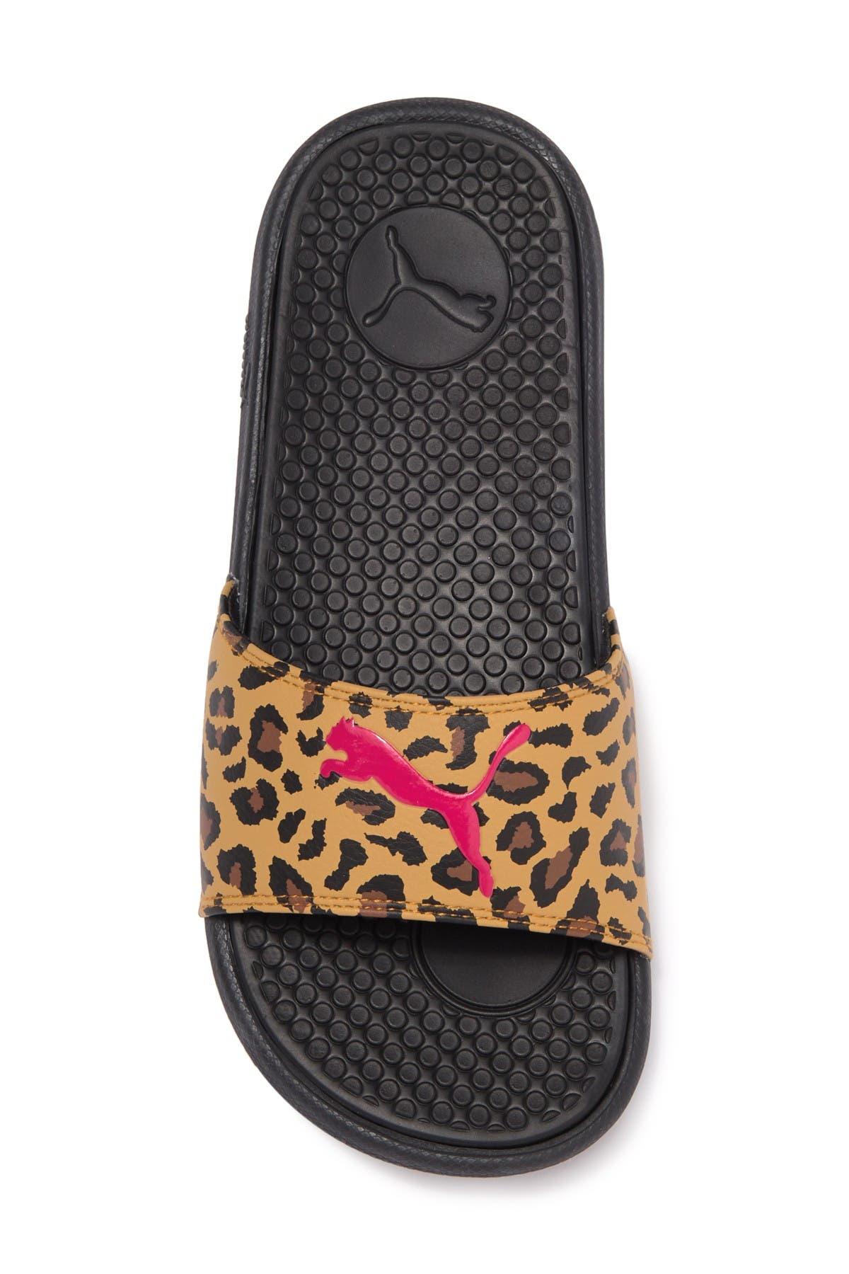PUMA | Cool Cat Leopard Slide Sandal