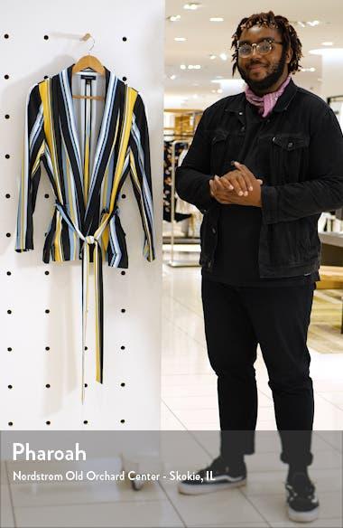 Soft Tie Waist Jacket, sales video thumbnail