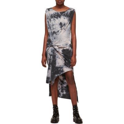 Allsaints Dytie Riviera Dress, Grey