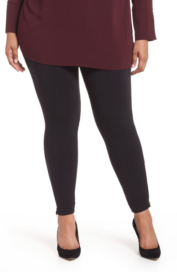 b5d0d4bcb9a SPANX® Look At Me Now Seamless Side Zip Leggings (Plus Size)
