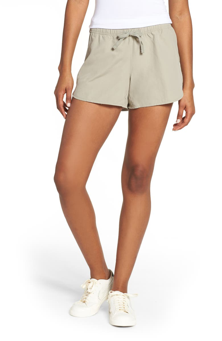 THE NORTH FACE Class V Shorts, Main, color, GREY
