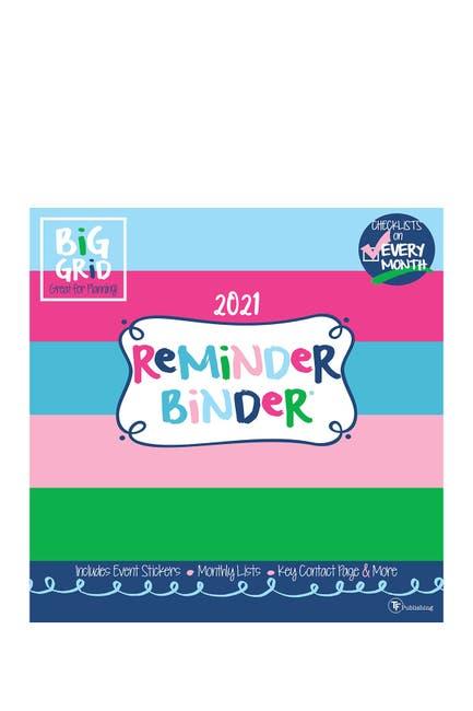 Image of TF Publishing 2021 Reminder Binder Wall Calendar