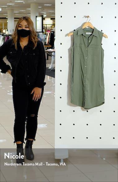 Margo Sleeveless Shirtdress, sales video thumbnail