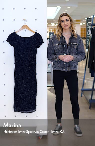 Beaded Cocktail Dress, sales video thumbnail