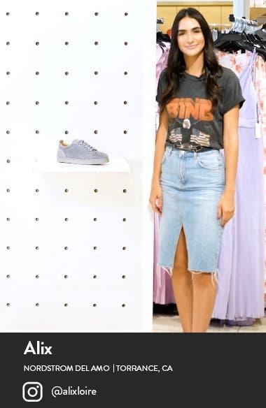 Louis Junior Spikes Sneaker, sales video thumbnail