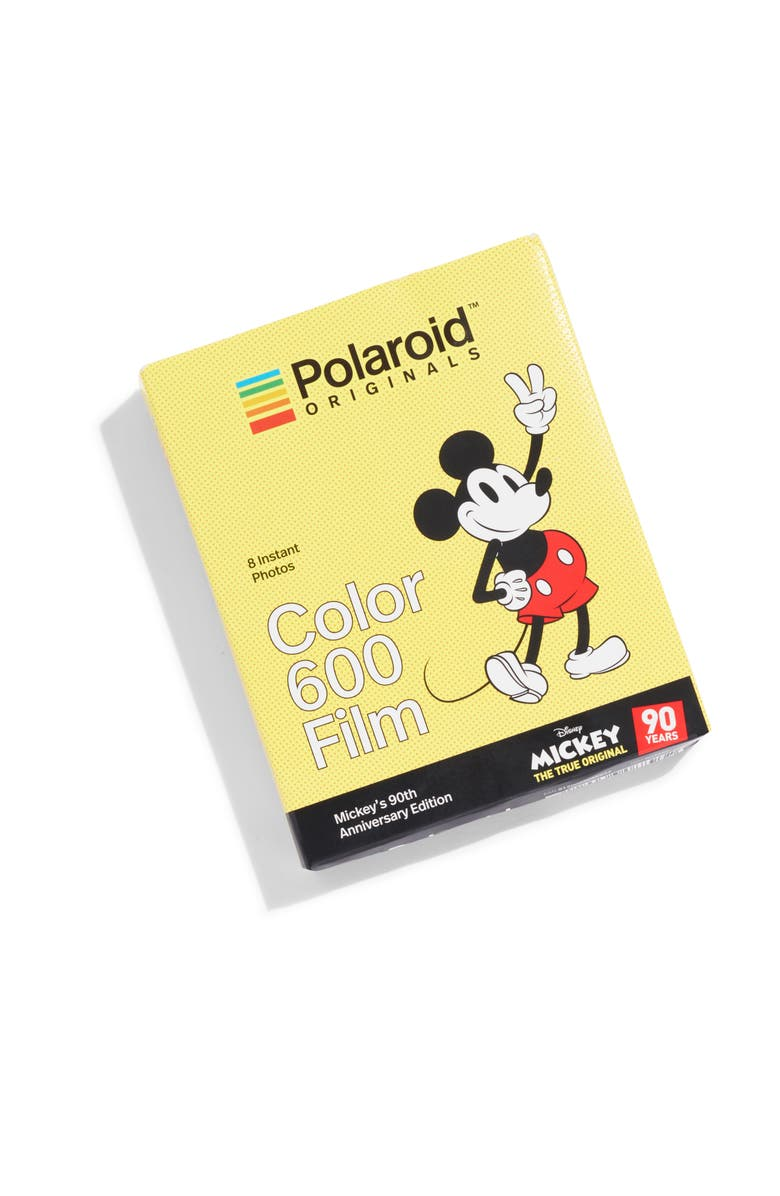POLAROID ORIGINALS Mickey's 90th Anniversary 600 Color Instant Film, Main, color, 700