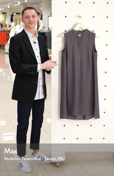 Trapeze Linen Shirtdress, sales video thumbnail