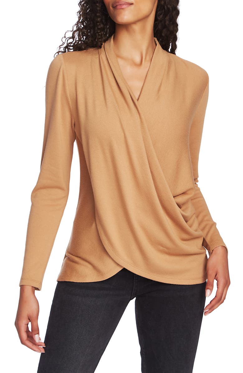 1.STATE Cozy Knit Top, Main, color, WILD OAK
