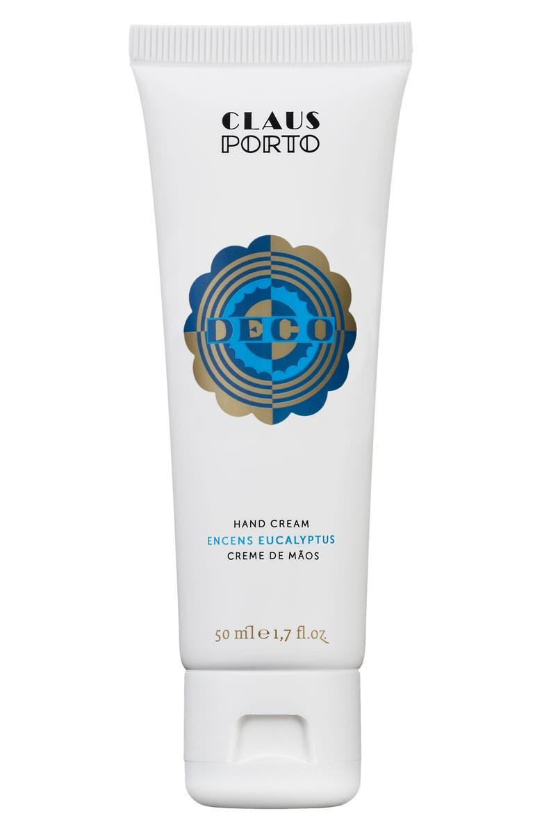 CLAUS PORTO Deco Encens Eucalyptus Hand Cream, Main, color, NO COLOR