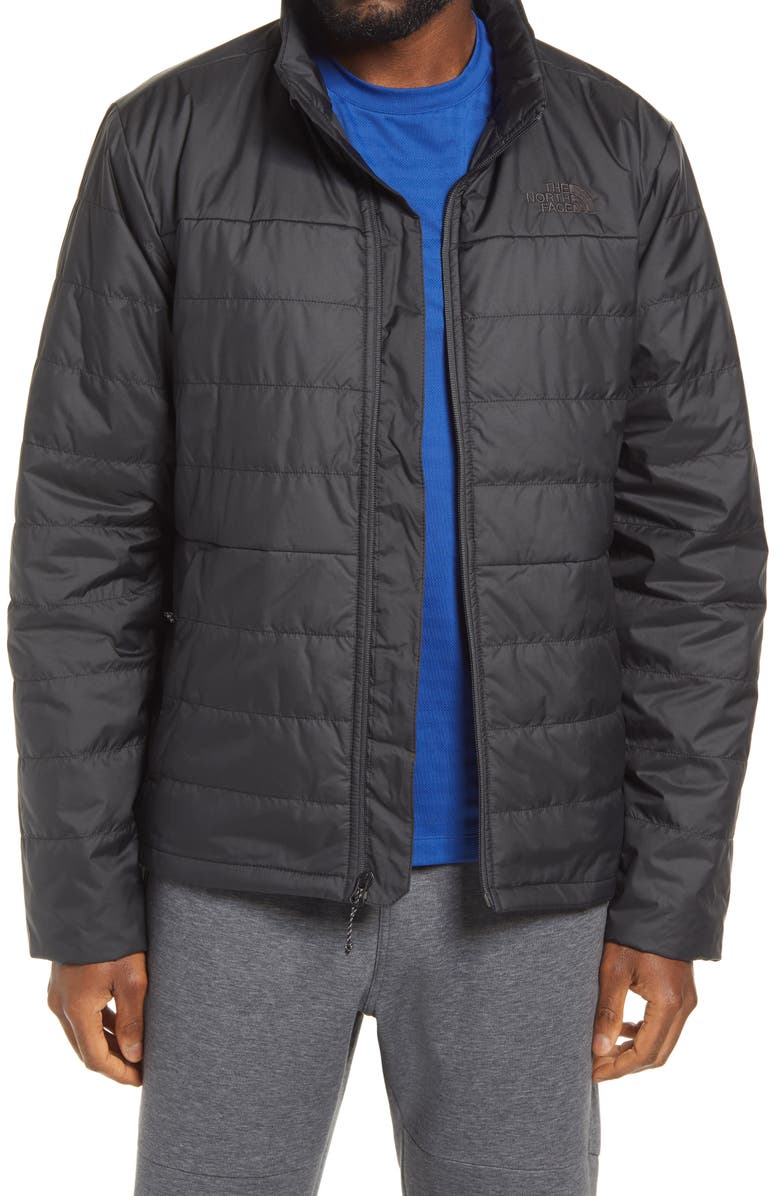 THE NORTH FACE Bombay Water Repellent Insulated Jacket, Main, color, TNF BLACK/ TNF BLACK