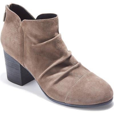 Adam Tucker Sierra Ruched Bootie- Grey
