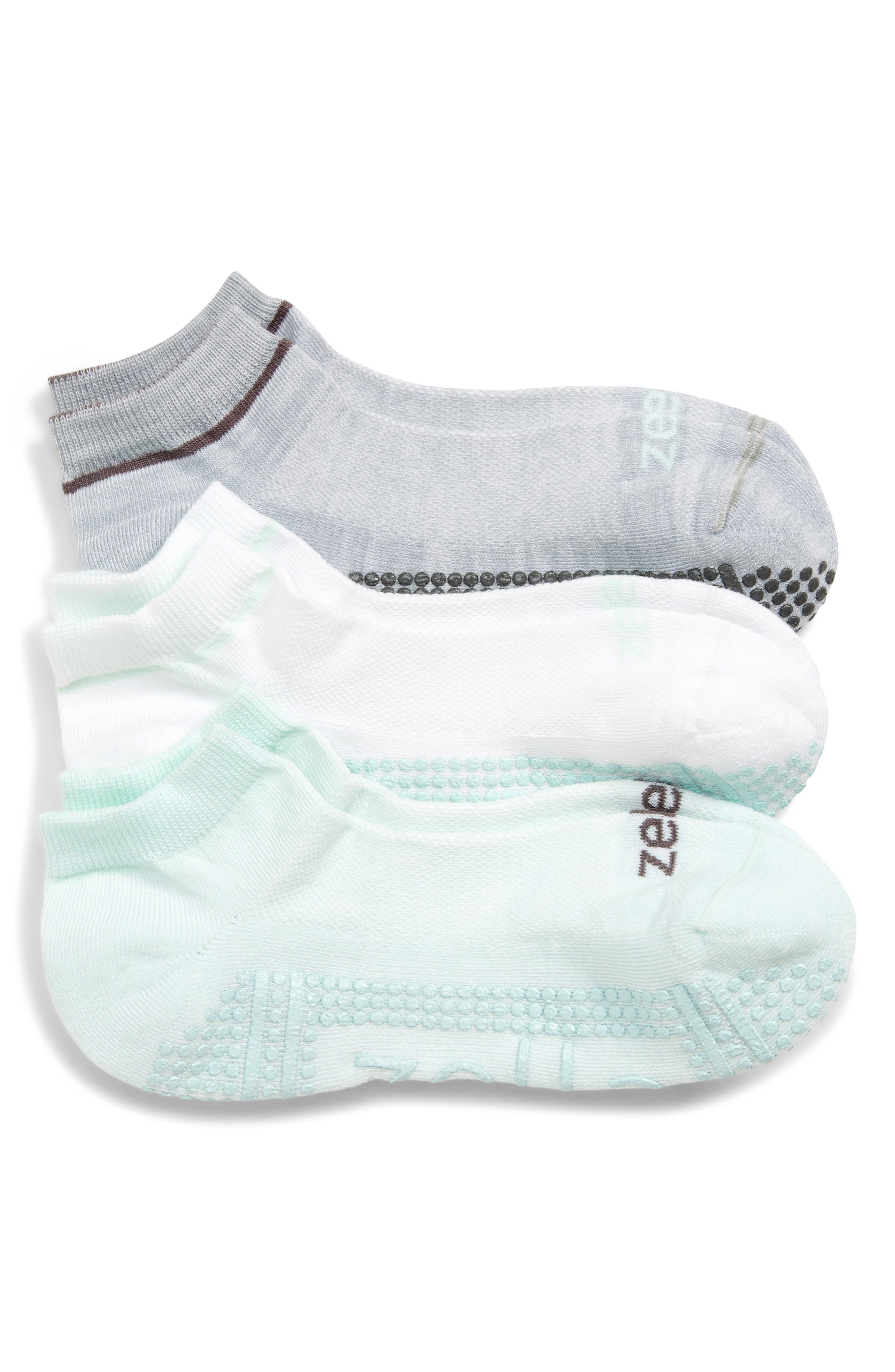 Zella 3-Pack Barre Socks