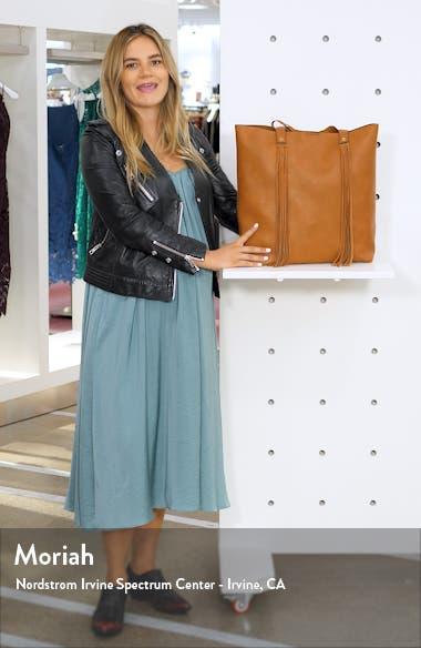 Dunne Faux Leather Tote, sales video thumbnail