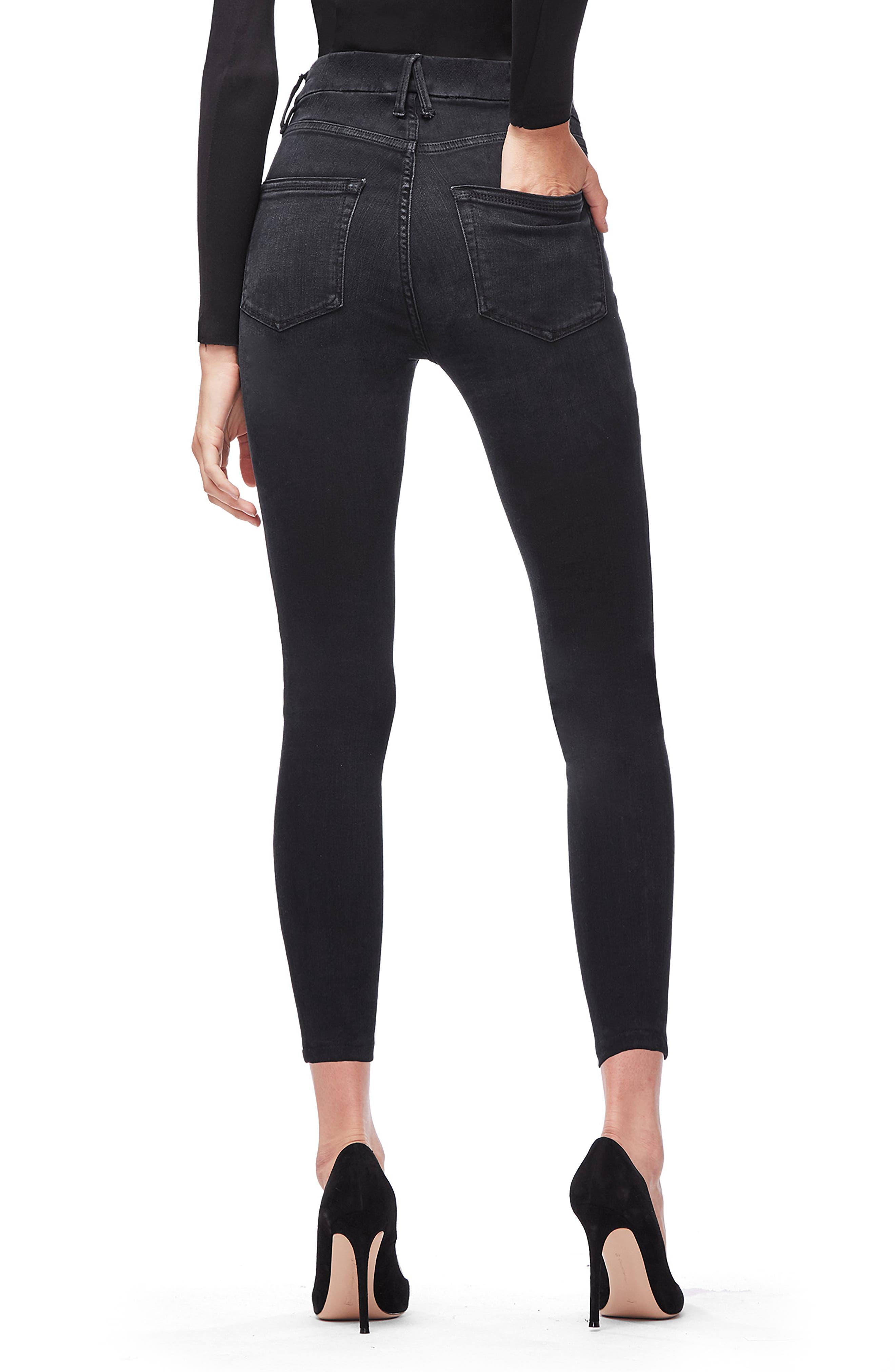 ,                             Good Legs Ankle Skinny Jeans,                             Alternate thumbnail 9, color,                             402