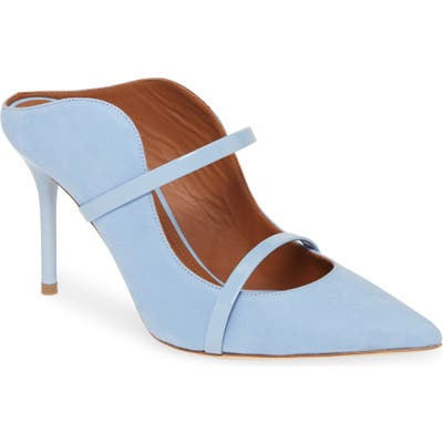 Malone Souliers Maureen Double Band Mule - Blue