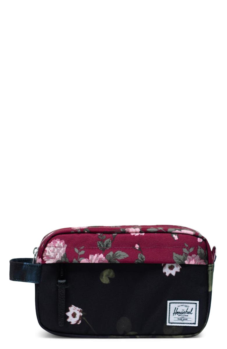 HERSCHEL SUPPLY CO. Chapter Carry-On Dopp Kit, Main, color, FINE CHINA FLORAL