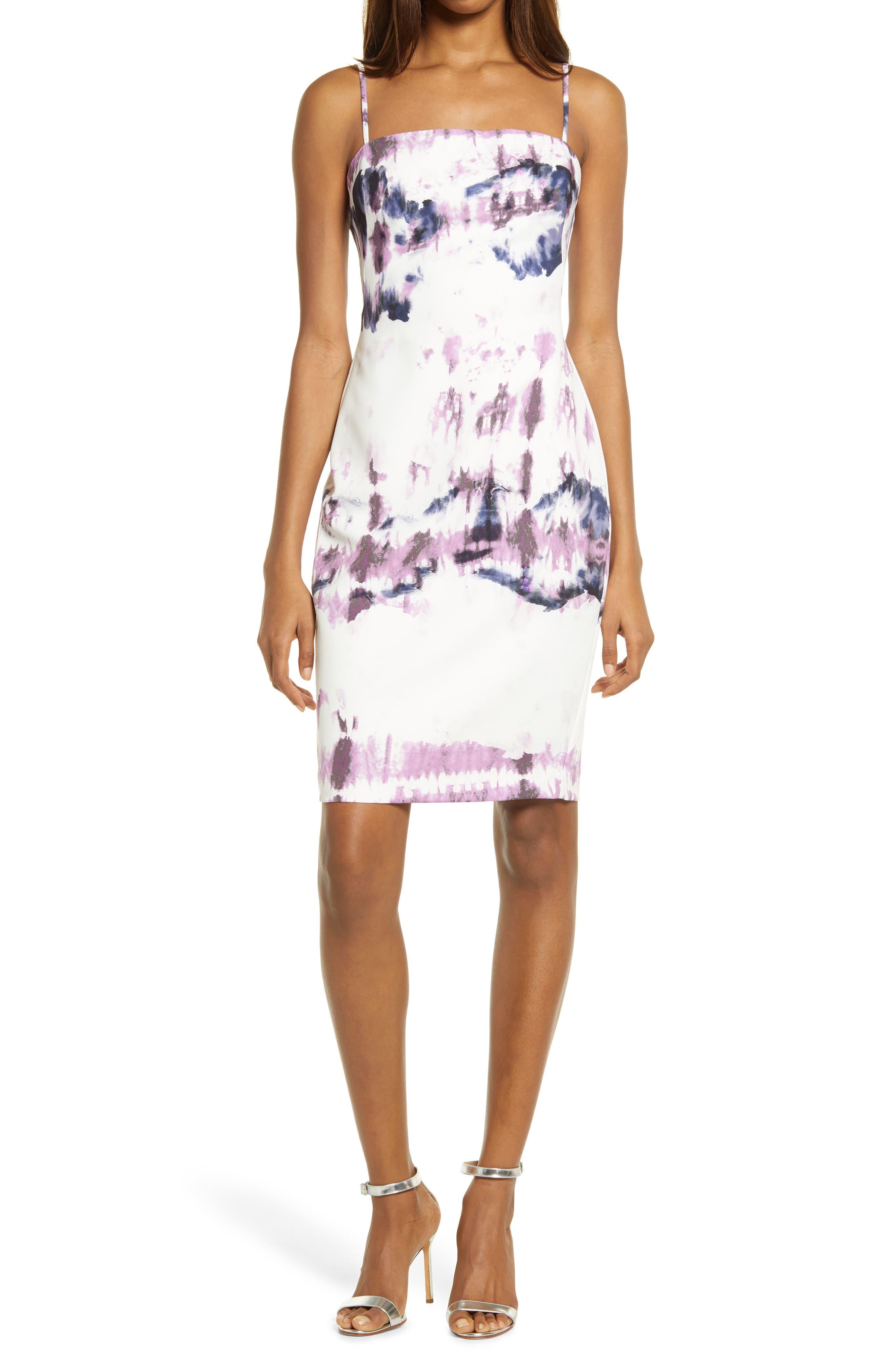 Capri Tie Dye Sheath Dress