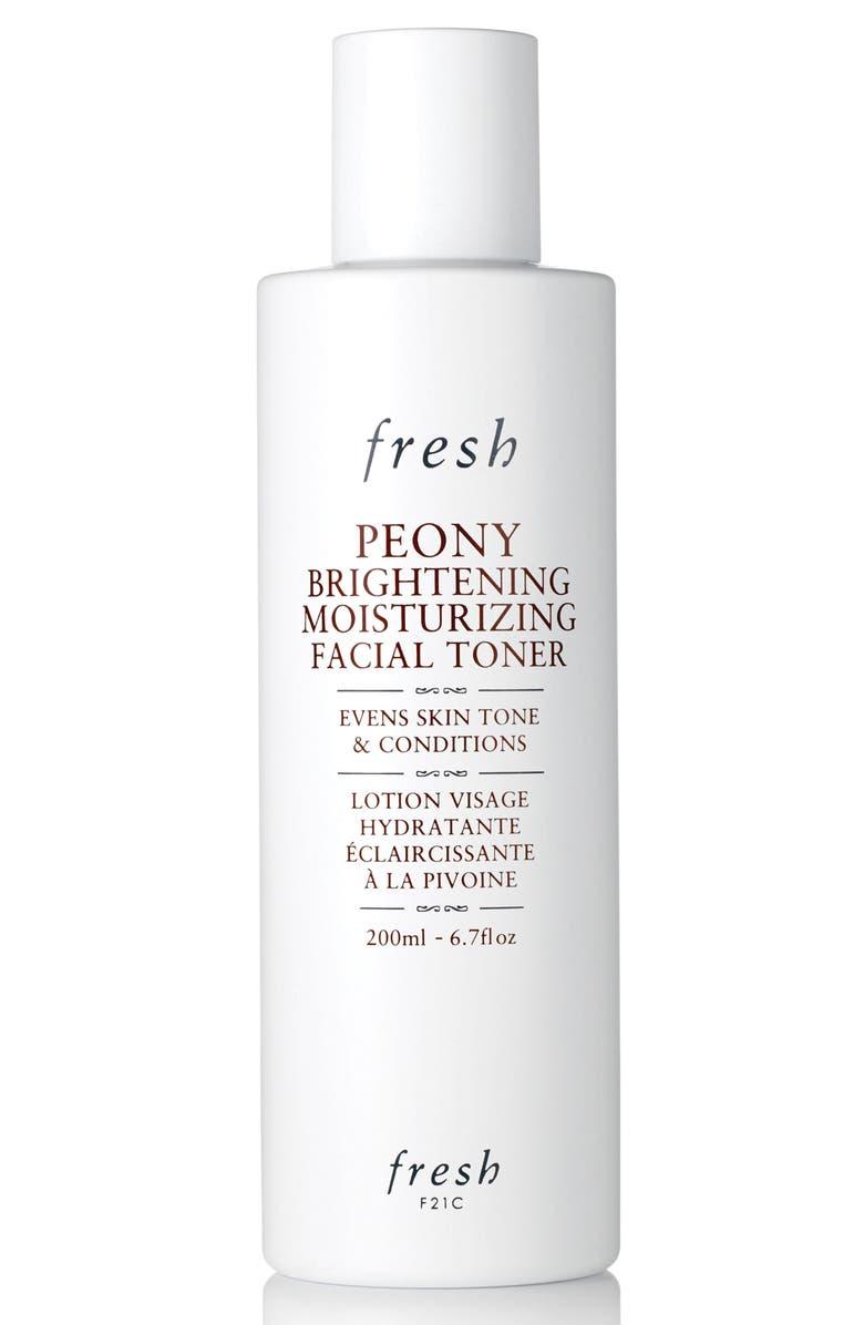 FRESH<SUP>®</SUP> Peony Brightening Moisturizing Facial Toner, Main, color, 000